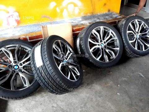GANGA BMW RINES 20 para x6 x5 x3 con llantas nuevas - Panamá
