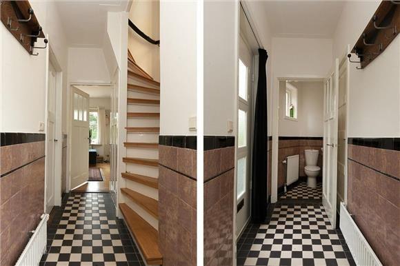 Den dolder gang jaren 30 woning hal jaren 30 pinterest for Interieur ideeen gang