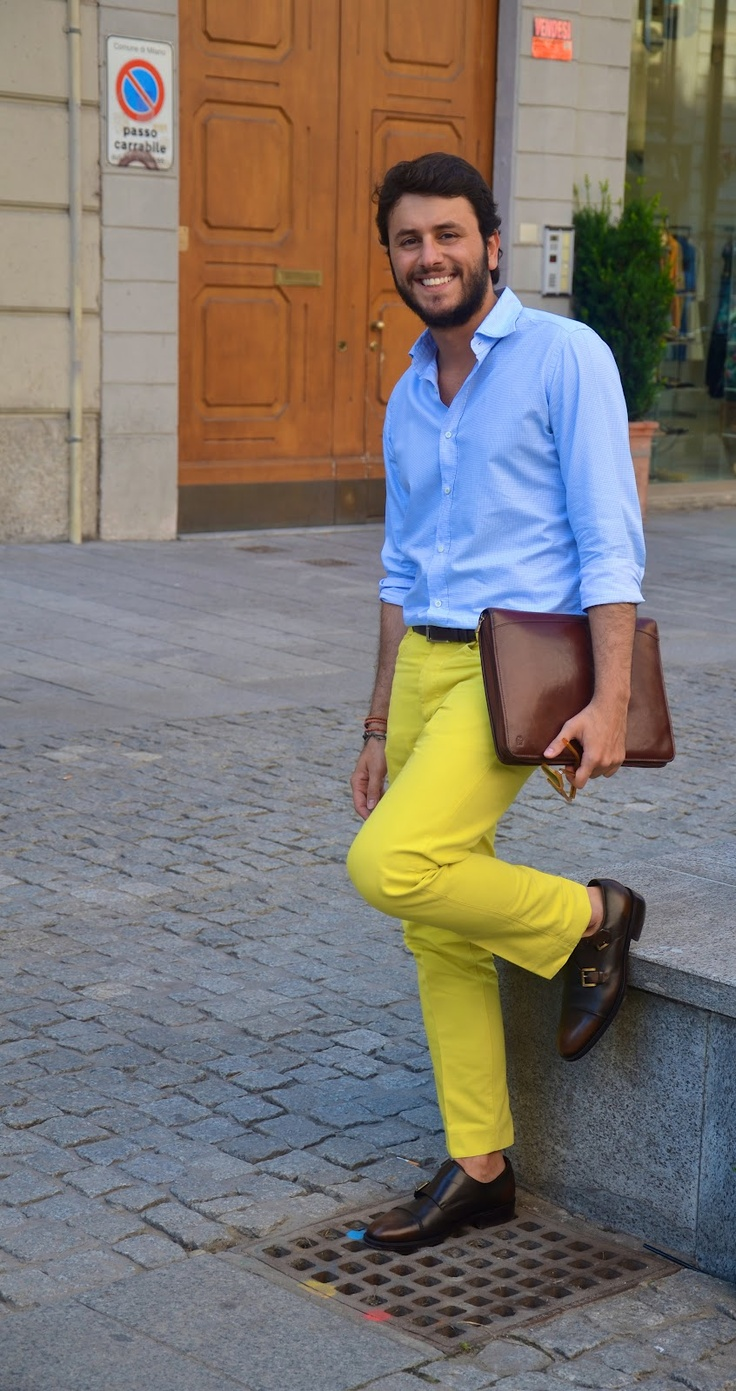 1000  ideas about Mens Yellow Pants on Pinterest | Classic mens ...