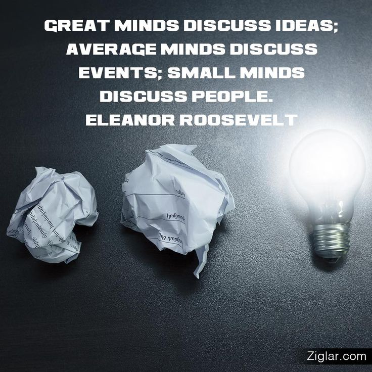 Small Minds Discuss People Quote: 17 Best Images About Goals On Pinterest