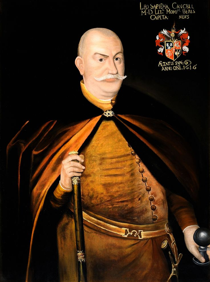 Portrait of Grand Chancellor Lew Sapieha by Anonymous, 1616 (PD-art/old), Valdovų rūmai