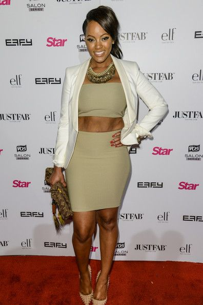 Malaysia Pargo attends Star Magazine Scene Stealers Party held at Tropicana Bar at The Hollywood Rooselvelt Hotel in Los Angeles.