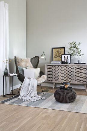 So funktioniert der Look »Cozy Corner Ethno«Ein Hoch auf die - wohnzimmer creme grun
