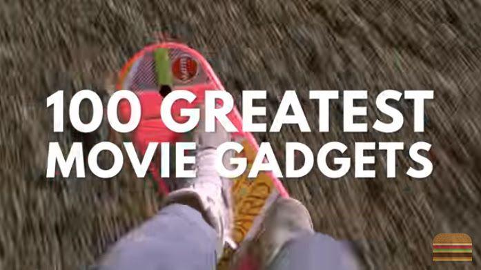100 Greatest Movie Gadgets Of All Time : 映画に登場したスゴイ道具や、驚きの秘密兵器のガジェットを集めに集めまくった約18分間のコンピレーション・ビデオ ! ! - 残念ながら、ドラえもんが四次元ポケットから取り出すひみつ道具は切りがないせいか?!、ひとつも採用されていませんでした!!   | CIA Movie News |  Video, Video of the day, James Bond, Supercut - 映画 エンタメ セレブ & テレビ の 情報 ニュース from CIA Movie News / CIA こちら映画中央情報局です
