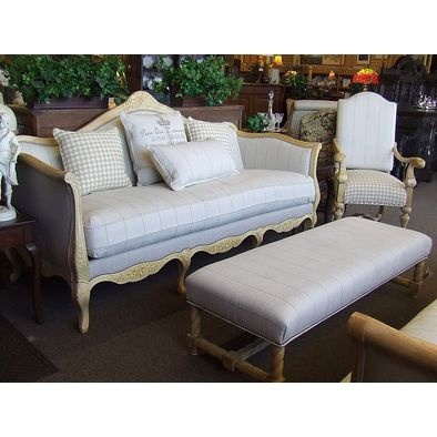 Fabulous Designer French Laundry Print Sofa By Southern This Is A Custom  Designer Sofa By Southern