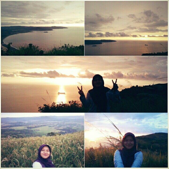 Puncak Darma, Geopark Ciletuh  What an amazing sunset....