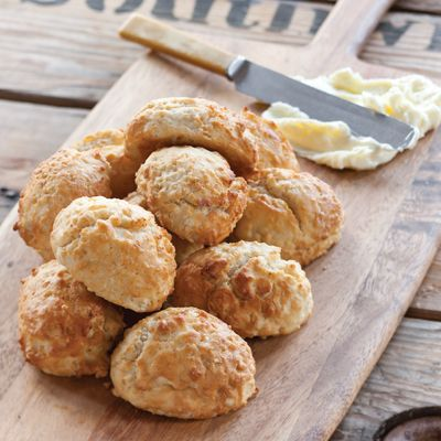 These delightfully easy drop biscuits come to us from the kitchen of Chef Cory Bahr, who runs the kitchens at Monroe, Louisiana's Restaurant Cotton and Nonna.