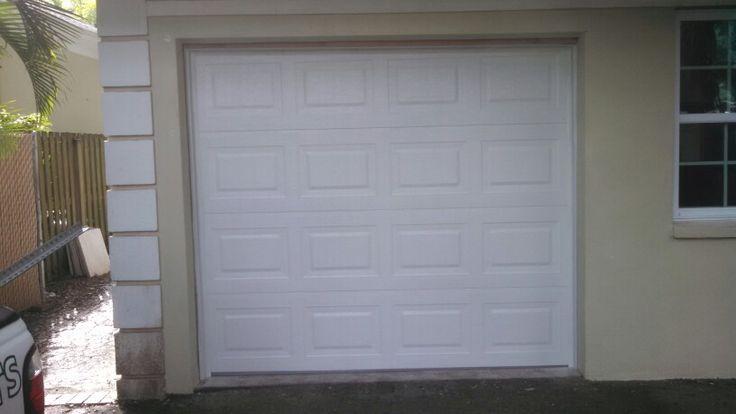 Overhead Door's Traditional Steel 9x7 Garage Door recently installed in Tampa, FL
