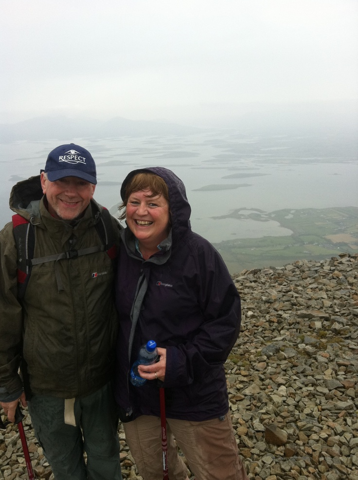 Top of Croagh Patrick,Co.Mayo