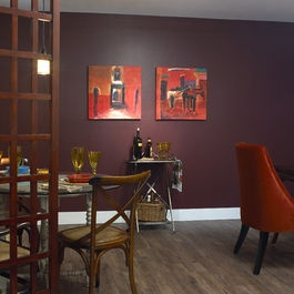 Benjamin Moore 1365 Bordeaux Red Next House In Reno