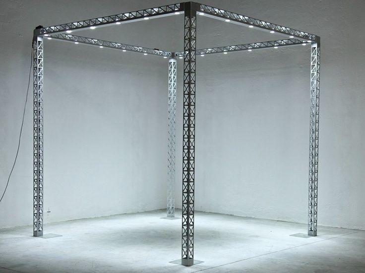 Struttura tralicciata per stand fieristici con LED EXPOLIGHT - SELVOLINA