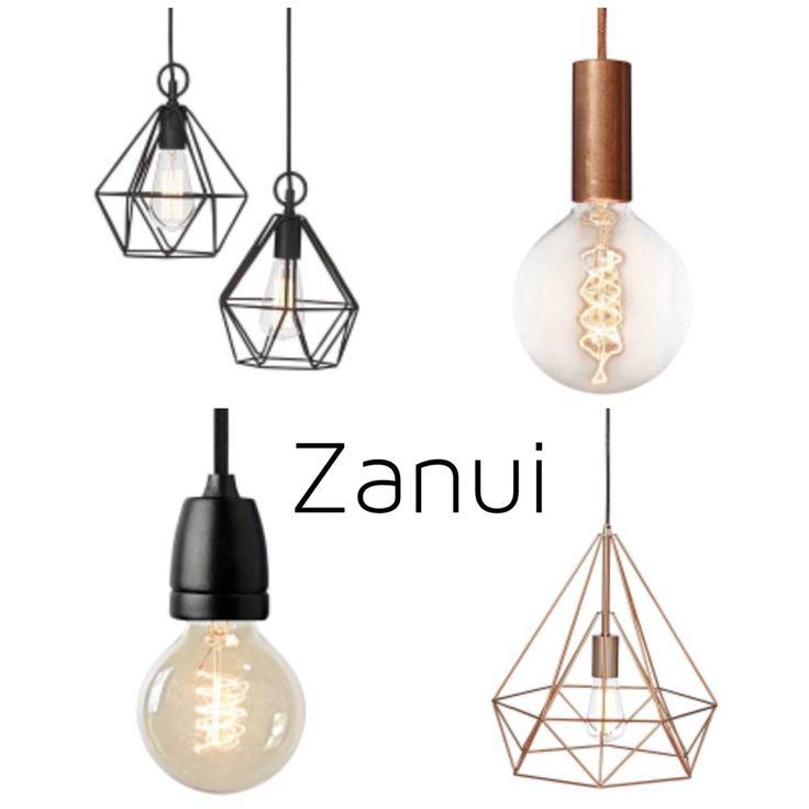 Serendipity Styling & Design's top 4 lights from Zanui  #lighting #pendantlights # copper #geometric