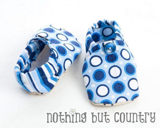 Baby shoes tutorial  fungerar det til barnehagetøflar også?