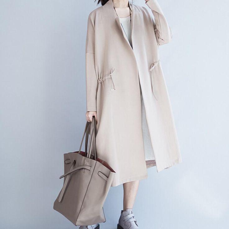 Retro Style Casual Wear Coat