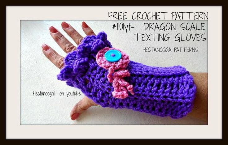 385 besten Hand Warmers Crochet Bilder auf Pinterest | Handschuhe ...