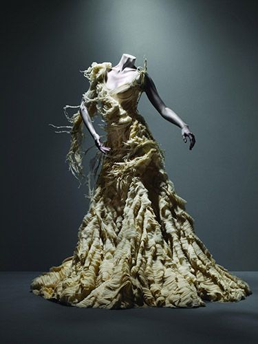 I want to be buried in this.  (McQueen)