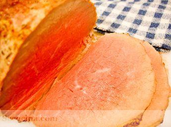 Redondo de ternera asado - Receta - Secocina
