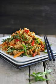 Anja's Food 4 Thought: Asian-Style Chicken Quinoa Salad
