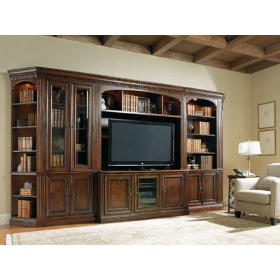 Hooker Furniture European Renaissance II Door Standard Bookcase