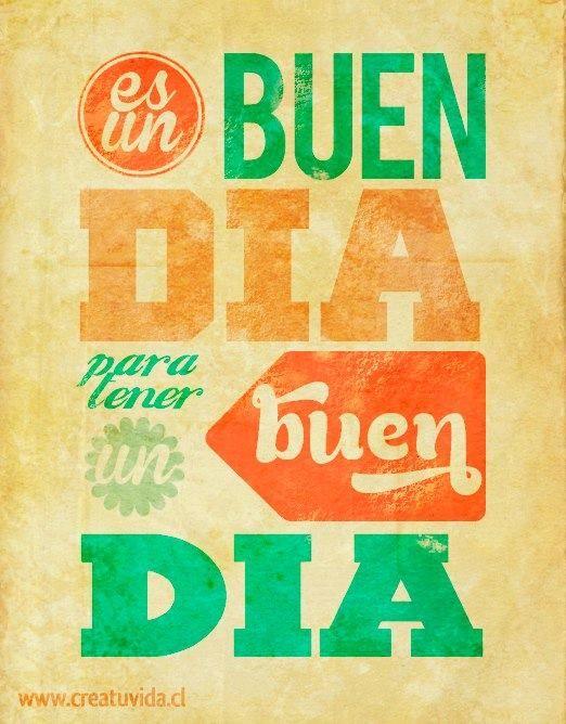 Buen Día!!!
