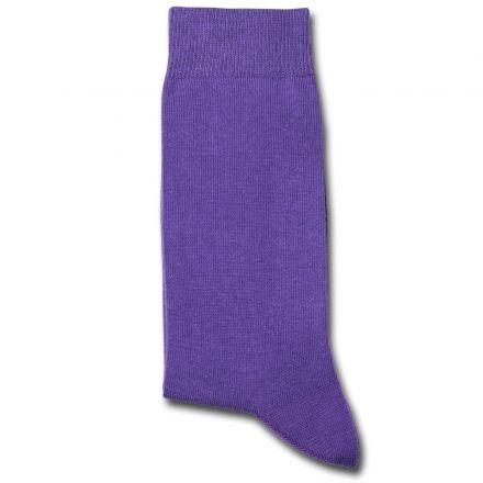Democratique Socks Originals Solid Dark Purple