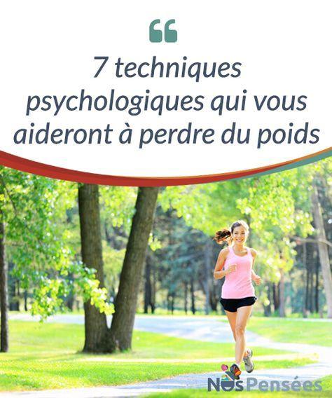 7 techniques psychologiques qui vous aideront à perdre du poids Quelques points simples à suivre pour parvenir à #perdredupoids tout en suivant un régime #équilibré et bon pour la #santé. #Psychologie