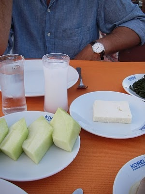 raki, beyaz peynir, kavun - heaven