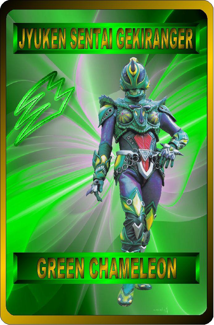 Green Chameleon by RAatNYSBA on DeviantArt【2020】 | レンジャー