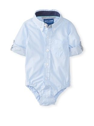 46% OFF Andy & Evan Baby Boy's Checkmate Shirtzie (Blue)