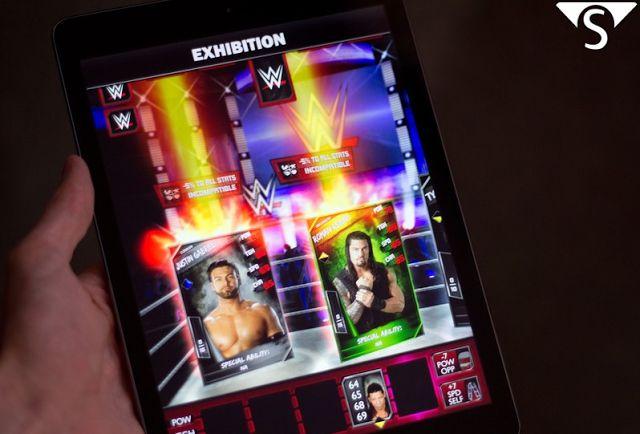 ► http://www.siberman.org/2014/08/wwe-supercard-android-apk-indir.html  WWE SuperCard, türkiyede bilindiği adı ile Amerikan Güreşi android kart oyunudur. WWE hayranlarının seveceği bir yapım olan WWE SuperCard adından da anlaşılacağı gibi kart oyunu dinamikleri üzerine kurulmuştur. Oyuna başlarken hayranlık beslediğiniz amerikan güreşçilerinden bir karakter seçip ringe çıkmaktan ziyade rakiplerimizle kartlar ile yüzleşiyorsunuz. Android cihazınıza ücretsiz indirip oynayabilirsiniz.