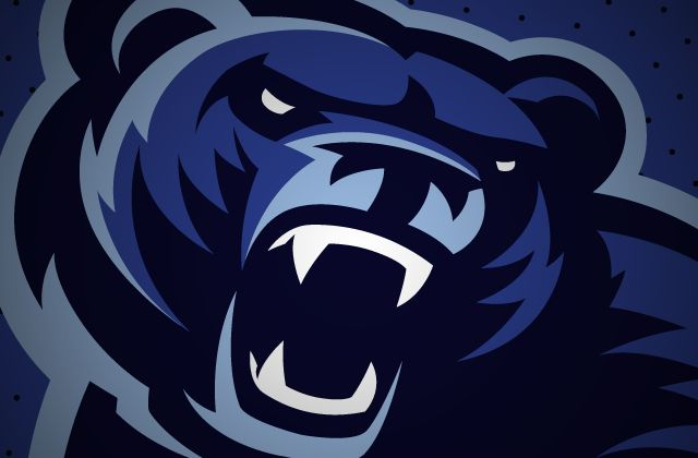 Black bear sports logo - photo#4