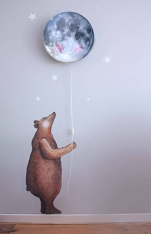 Bear wall sticker