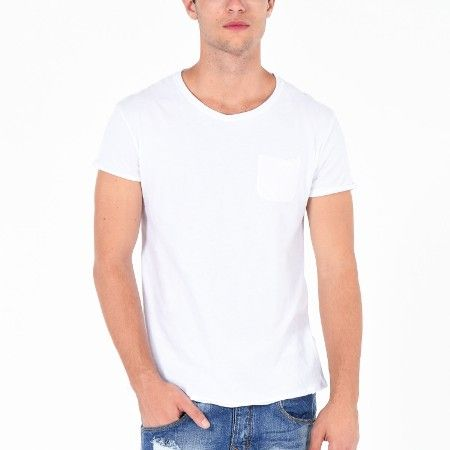 PLAYERA CUELLO REDONDO GC24D748 BLANCO CHI