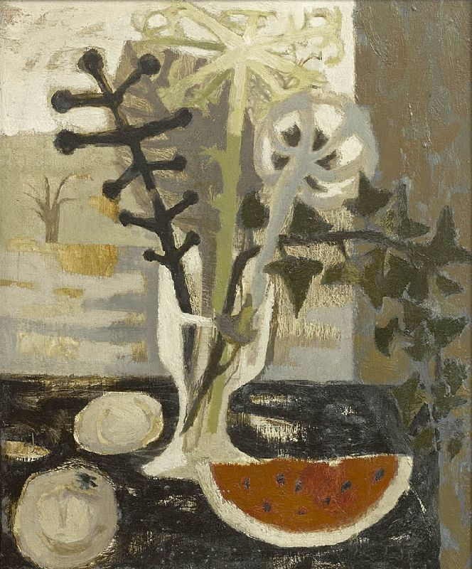 Mary Fedden | A Slice of Melon