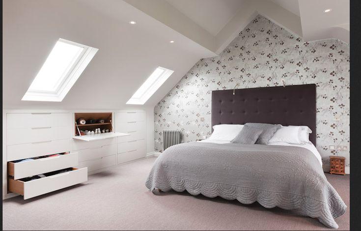 17 Best Ideas About Eaves Bedroom On Pinterest Slanted