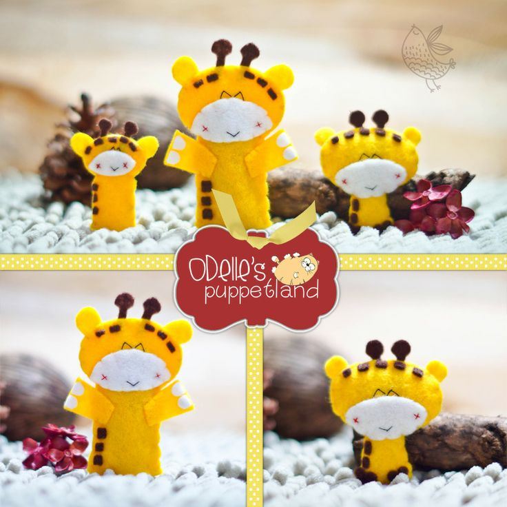 GEE THE GIRAFEE  is one of the 50 cute characters in odelle's puppetland. Each character here, is available for the finger puppet, pencil puppet  mini puppet. Get them for only rp7.000/each. Contact me: http://odellespuppetland.blogspot.com sms/wa : 0896 420 97 266 ping me! 7448EE1E  #fingerpuppet # puppet #odellespuppetland #handmade #craft  #felt  #bonekajari #giraffe #baby #kids #edutoys