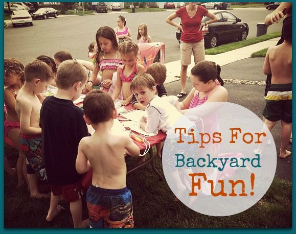 Tips For Backyard Fun: Fun Activities, Backyard Fun, Fun Stuff, Have Fun, Fun Ideas, Summer Fun, Families Fun, Kids Fun, Fun Times