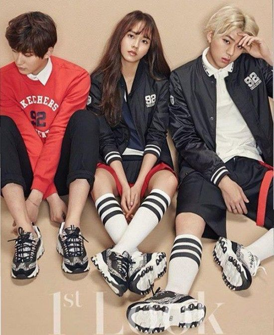 Kim So Hyun shares pictures from her '1st Look' pictorial with Block B | http://www.allkpop.com/article/2015/02/kim-so-hyun-shares-pictures-from-her-1st-look-pictorial-with-block-b