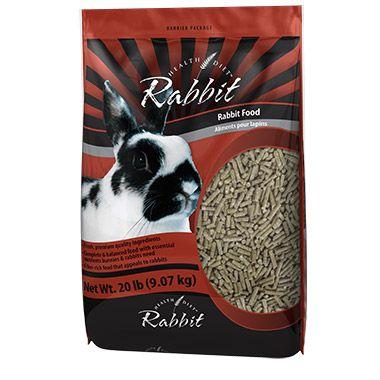 Health Diet rabbit pellets. $6.99 at Pet Valu.