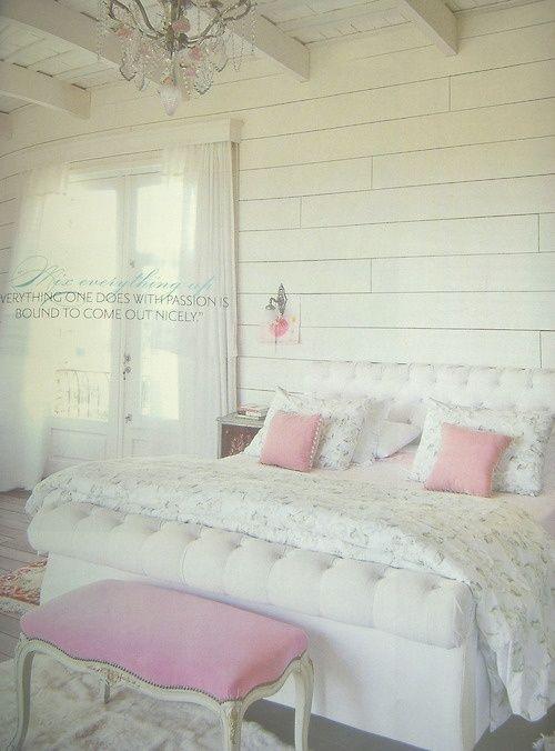 die 8 besten bilder zu shabby chic rooms auf pinterest | rosa ... - Shabby Schlafzimmer Rosa