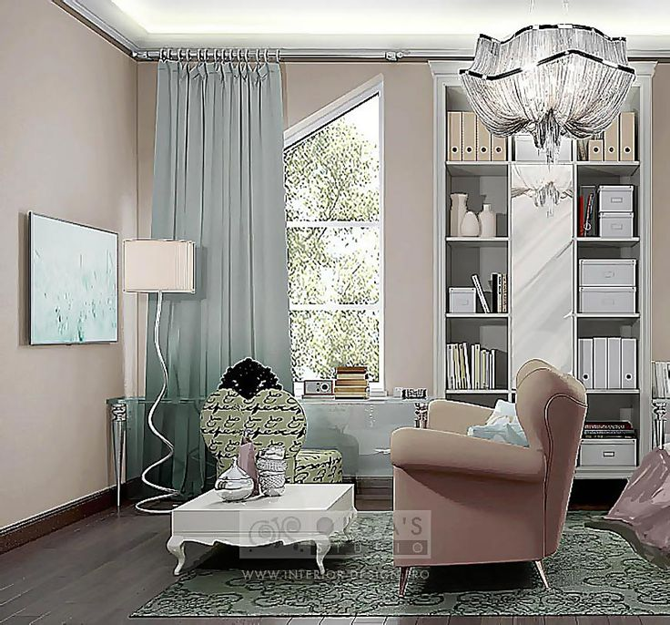 Coffee table and working Space in a Child's Room http://interior-design.pro/en/blog/art-deco-childs-room-design.php