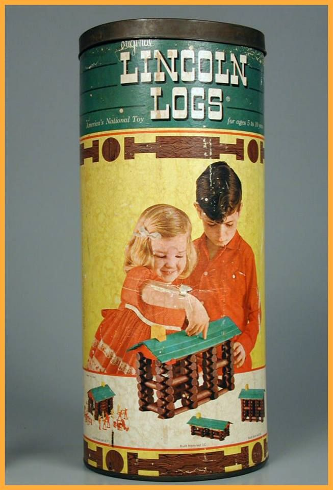 Lincoln Logs...I loved playing with these :-)