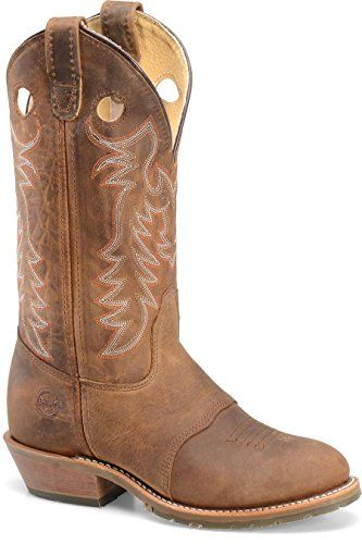 These Double H Women's Western Boots are made to fit every person's lifestyle. Double H carries a variety in boots from dress boots, western boots, work and safety boots. My favorite western boots are these Double-H Boots Women's Buckaroo Brown Full Grain 6.5 M US