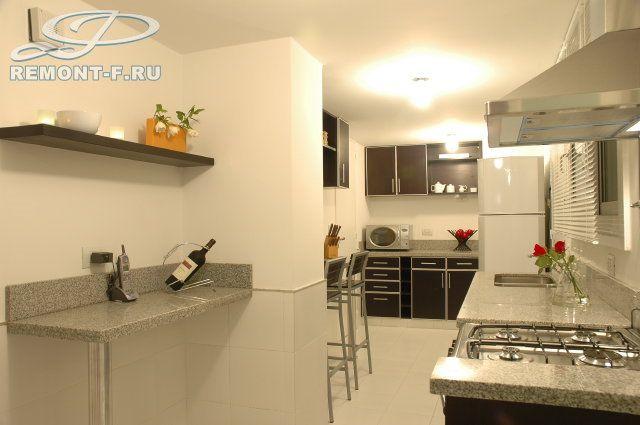 Кухня в стиле минимализм. Фото интерьера