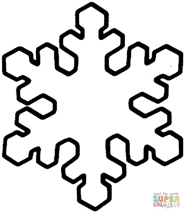 Snowflake   Super Coloring