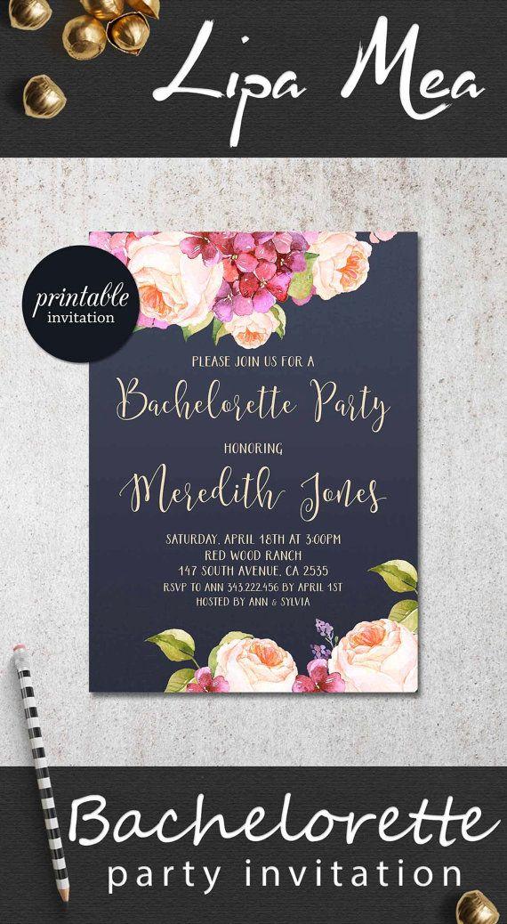 Best 25 Hens Night Invitations Ideas On Pinterest Bachelorette