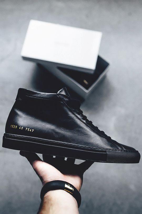 cop any black sneaker?