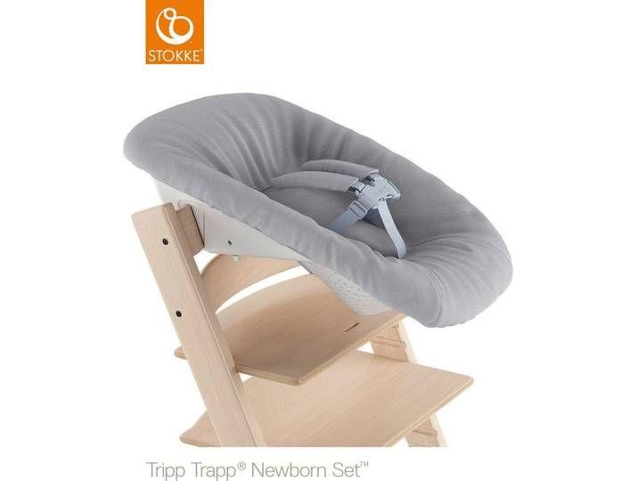 Stokke Tripp Trapp Newborn Set Bezug Grey Baby Car Seats Car Seats Bean Bag Chair