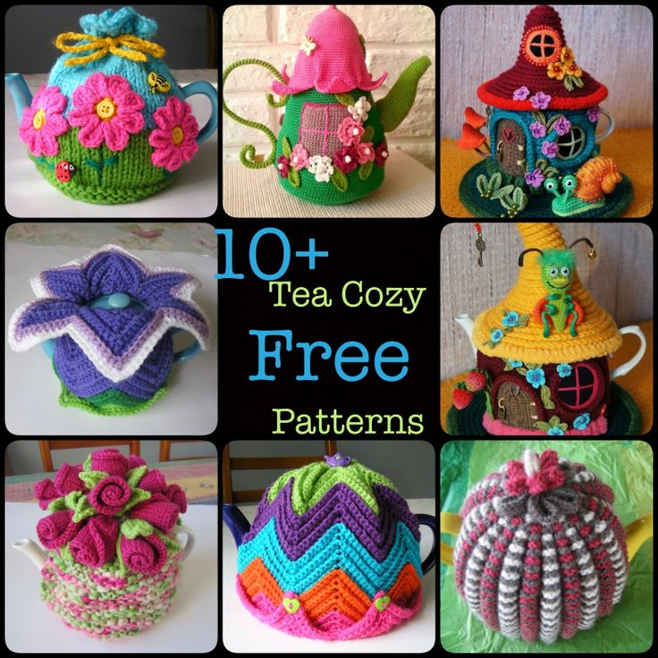 139 Best Crochet Tea Cozies Images On Pinterest Tea Pots Knitted