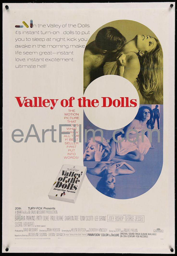 Valley Of The Dolls-1967-Sharon Tate-Patty Duke-Jacqueline Susann's novel-27x41